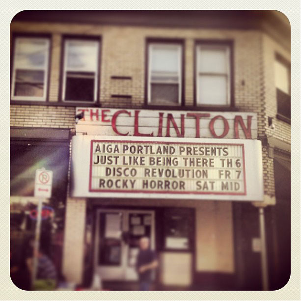 Clinton Street Theater Marquee