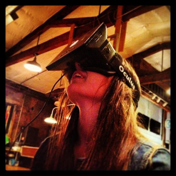 Oculus at Interhacktive