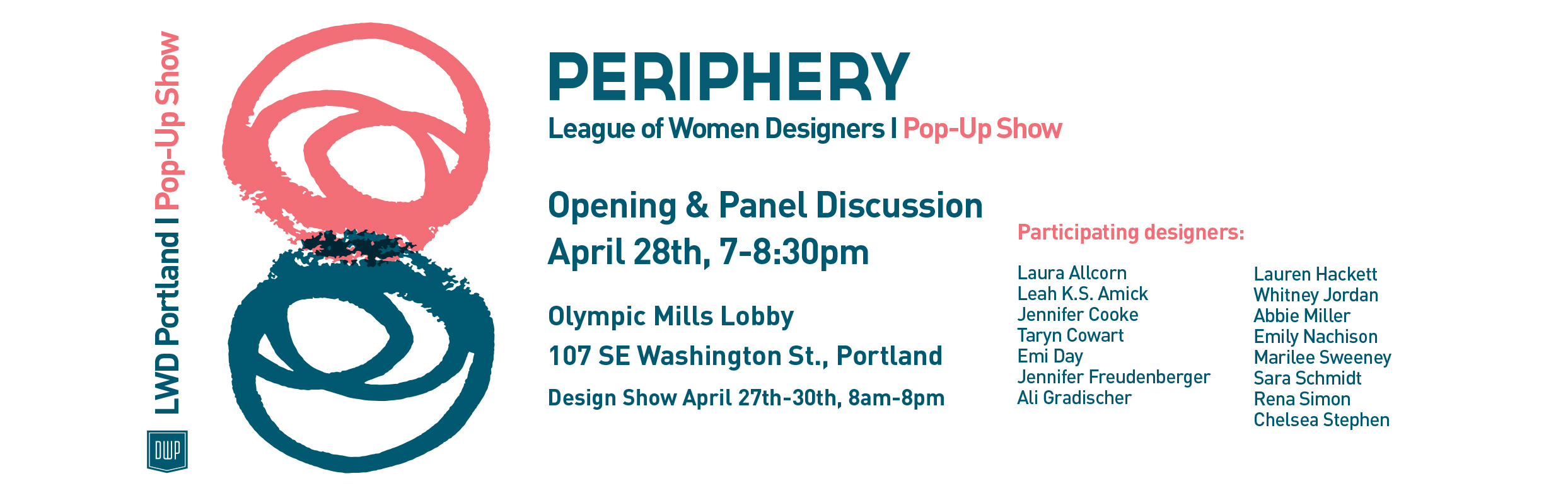 Periphery designers at League of Women Designers Portland's Pop-Up Show