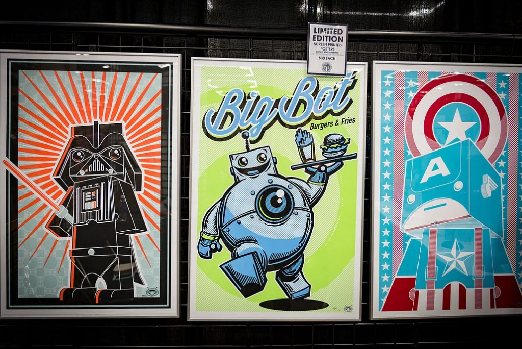 Illustration and poster designs by Brian Kappel
