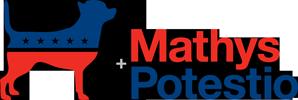 Mathys + Potestio logo.