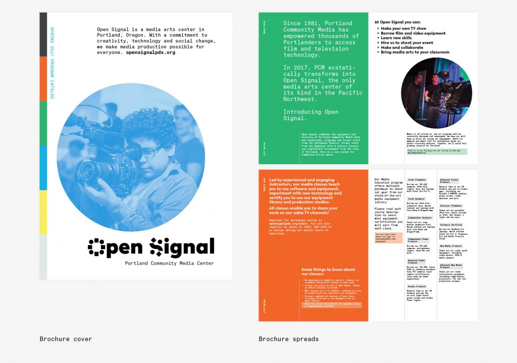 Open Signal brand manual